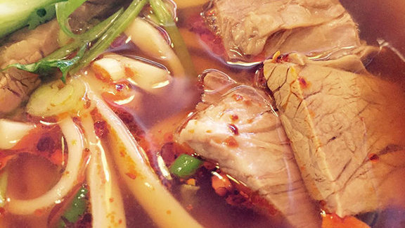 Chef James LaLonde reviews Braised beef noodle soup at House of Xian Dumpling