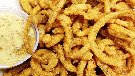 Chef Ming Tsai reviews Crispy fried Vidalia onion strings at Summer Shack