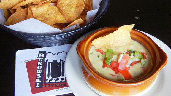 White Trash cheese dip at Bukowski Tavern