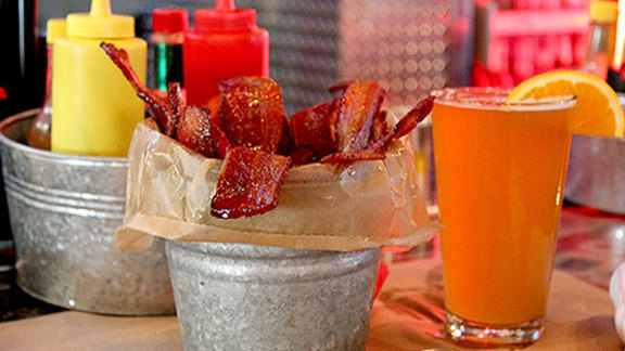 Pig in a Bucket at Burger & Beer Joint (B&B)