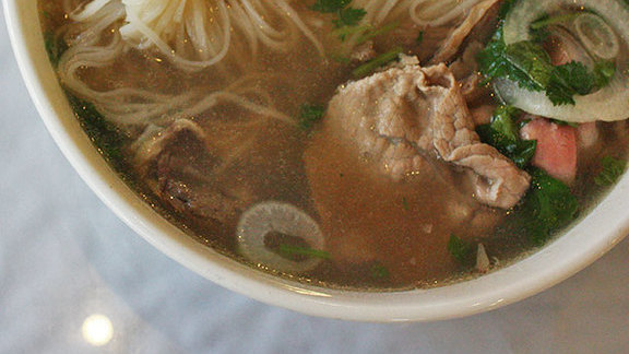 Beef phở at Glendale Pho Co.