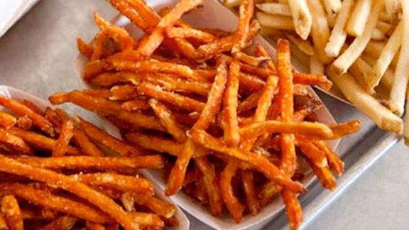 Sweet potato fries at Gott's Roadside