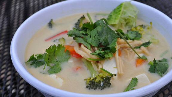 Tom ka soup at Koon Thai Kitchen
