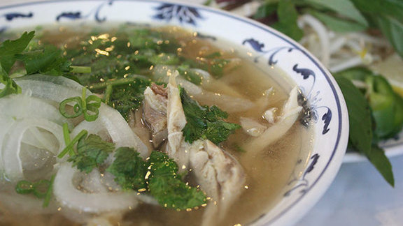 Phở gà at Pho Than Brothers