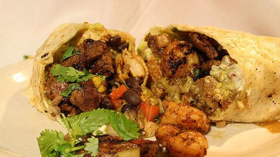 The Flying Burrito at Juan's Flying Burrito