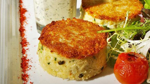 """Gâteau de crabe façon """"Westermann"""" at Cafe du Parc"""