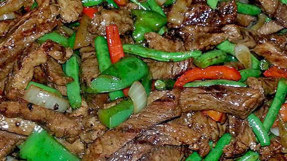 Chop steak at Paradise Supermart