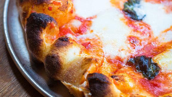 Margherita pizza  at Pizzeria Delfina