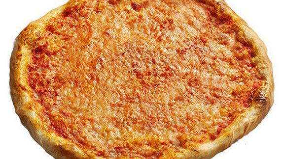 Large cheese pizza at Pizzeria Regina