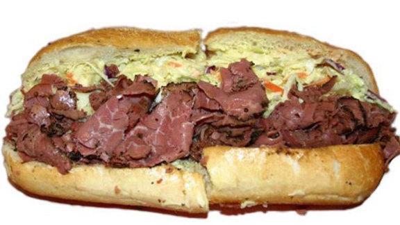 Tat'strami sandwich at Tat's Delicatessen