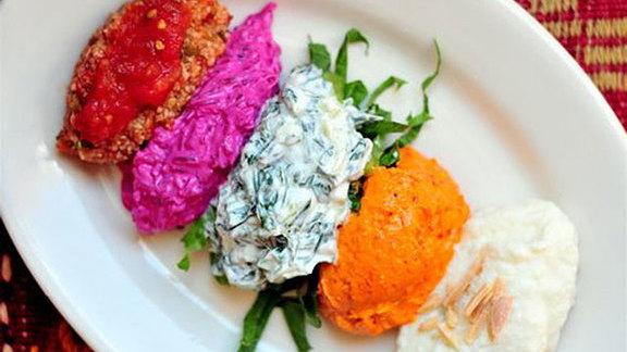 Chef Joshua Breen reviews Meze bar at Sofra Bakery & Cafe