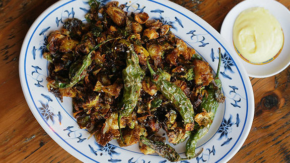 Crispy Brussels sprouts at Ace