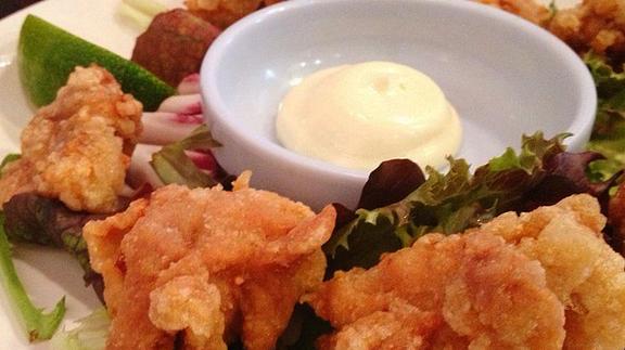 Fried chicken at Shin-Sen-Gumi 2GO