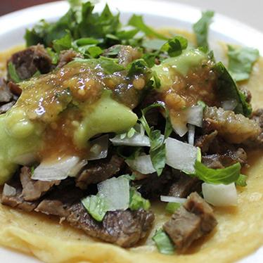 Tacos at Tacos El Gordo
