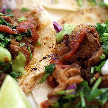 Tacos at Anna's Taqueria