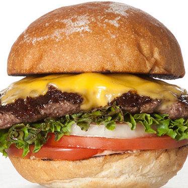 The Lounge burger at Burger Lounge Del Mar