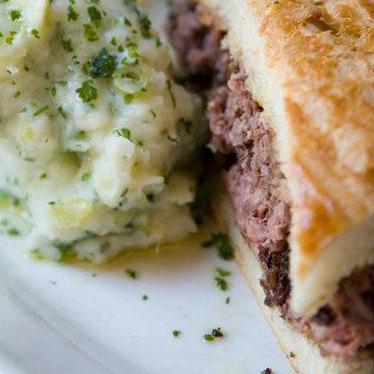 Famous French Dip at South Beverly Grill