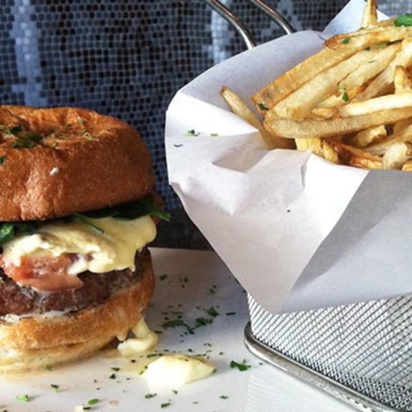 Medium 777 burger neighborhood