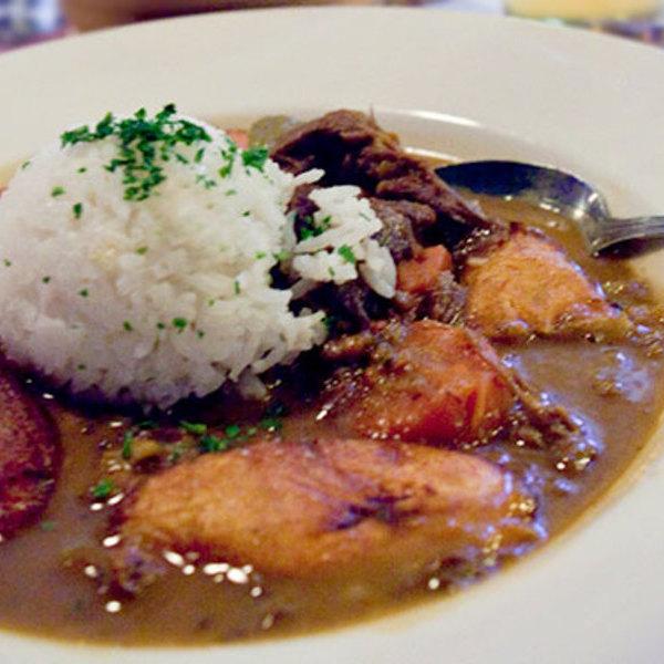 spicy coconut curried goat stew - Highland Kitchen