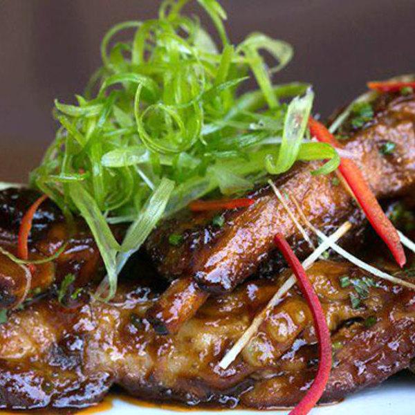 Medium twelve hour pork spare ribs beaumont s wb