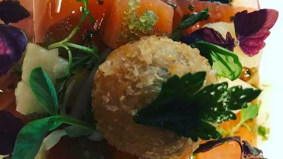 Anis marinated salmon at In Situ