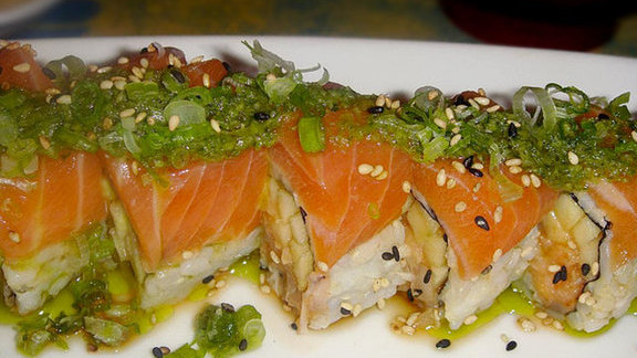 Omega-3 Roll at Sushi Bistro