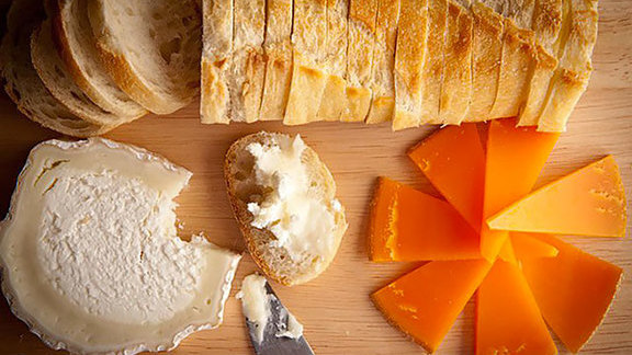 Chef Mike Lata reviews Cheese plate at