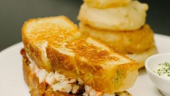 Lobster grilled cheese at Bymark