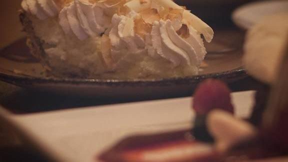 Coconut cream pie at Cuoco