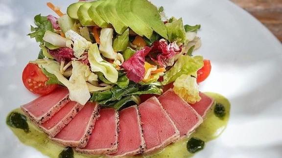 Yellowfin tuna salad, avocado at JOEY Coquitlam