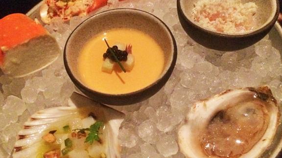 Fruit de mar platter at The NoMad Restaurant