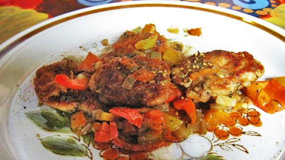 Chef Anthony Sasso reviews Lamb brains at