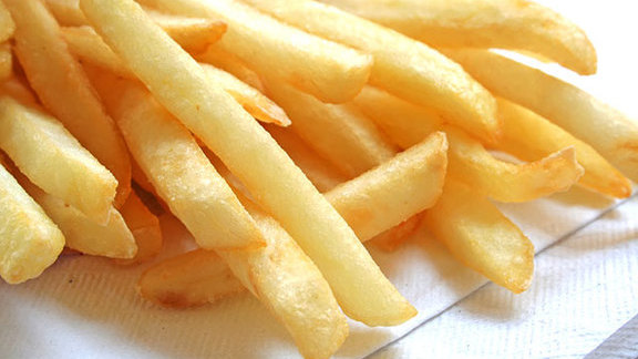 French fries at Town Restaurant