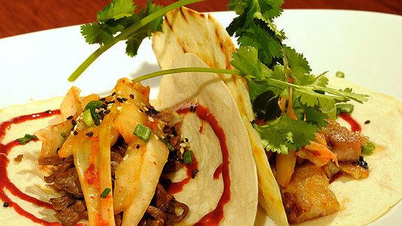 Chef Han Chiang reviews Korean tacos at