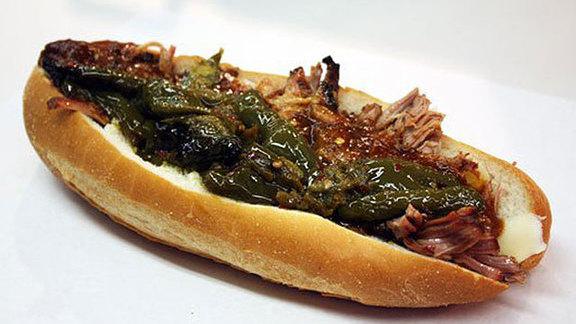 Chef Sean McPaul reviews Roast pork sandwich at