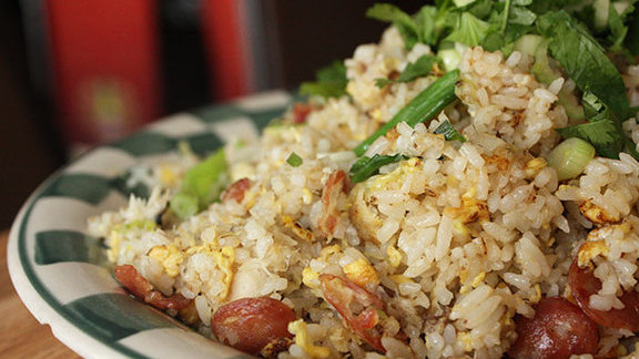 Salt cod fried rice at Mission Chinese Food