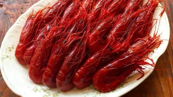 Chef Joe Cicala reviews Gamberi rossi red prawns at Le Virtù