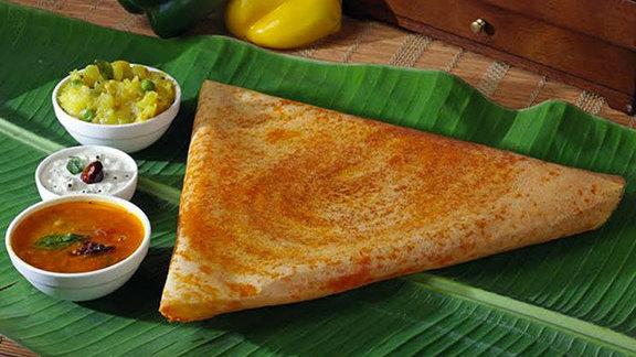Masala dosa at Bombay Indian Restaurant