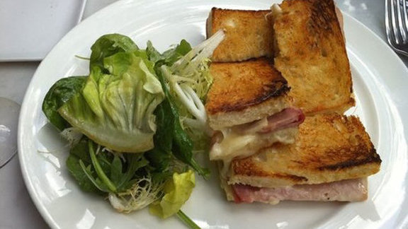 Chef Eric Gregory reviews Croque Madame at Bistro du Midi
