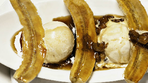 Bananas Foster at Mooo....