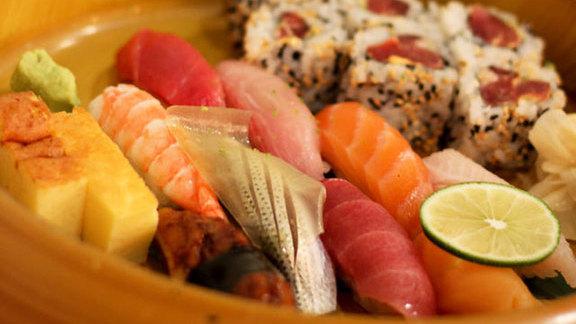 Sashimi at Morimoto