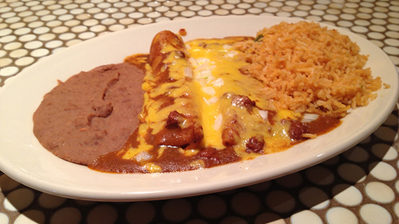 Mexican Plate at Maudie's North Lamar