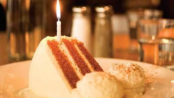 Carrot cake at Hub 51