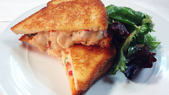 Lobster melt at Bergamot