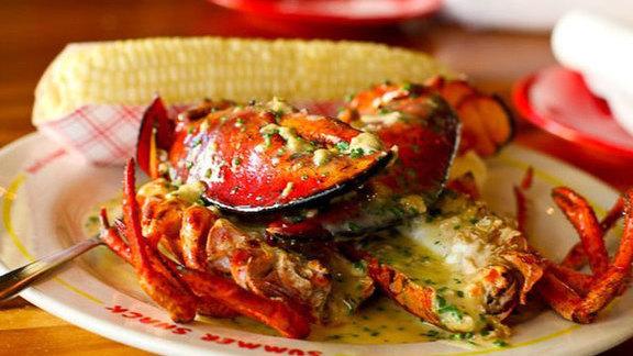 Chef Jody Adams reviews Pan roasted lobster at Summer Shack