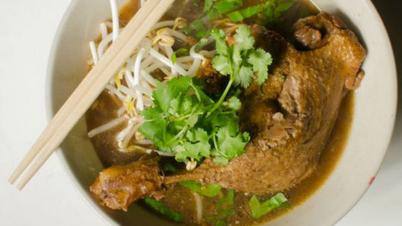 Duck noodle soup at Titaya's Thai Cuisine