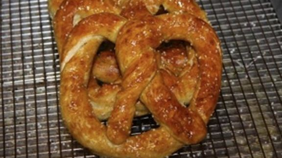 Regular pretzel at Miller's Twist