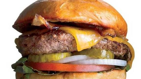 The Classic burger at Hopdoddy Burger Bar