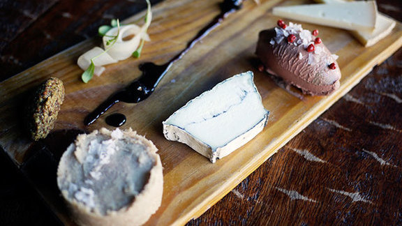 Chef Jill Barron reviews Charcuterie platter at Rootstock