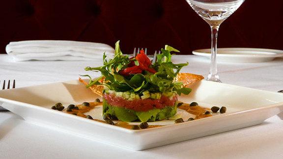 Bluefin tuna tartare at Chicago Cut Steakhouse